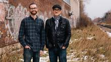 Callum Hay and Eric Portelance are opening Halo Brewery in Toronto's trendy Junction Triangle this spring. (Sean Howard)