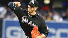 Miami Marlins starting pitcher Jose Fernandez (Lenny Ignelzi/AP)