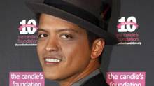 Musician Bruno Mars (Reuters)