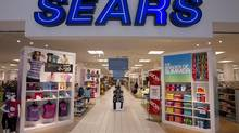 The second floor entrance to the Sears store at Upper Canada Mall in Newmarket, Ont. (Peter Power/Peter Power/The Globe and Mail)