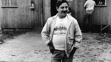 Renowned Brazilian environmentalist Chico Mendes poses outside the headquarters of his rubber-tappers union in 1988. Dec. 21, 2013, marks the 25th anniversary of his killing. (REUTERS)