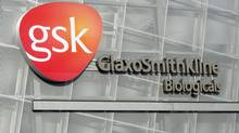 Quebec's GlaxoSmithKline plant is shown in 2009. (JACQUES BOISSINOT/THE CANADIAN PRESS)