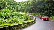 The Hana Highway features 600 cruves that may bring on motion sickness. (Hawaii Tourism Authority)