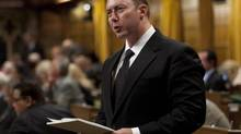 Conservative MP Rob Anders rises in the House of Commons in Ottawa on Sept. 26, 2012. (ADRIAN WYLD/THE CANADIAN PRESS)