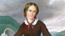 Nineteenth-century novelist Charlotte Bronte, seen in an engraving by William Jackman. (Everett Collection)