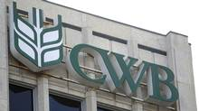The Canadian Wheat Board (CWB) building is shown in Winnipeg on Wednesday, December 7, 2011. (Trevor Hagan/CANADIAN PRESS)