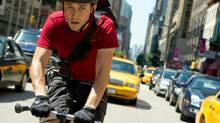 "Joseph Gordon-Levitt in a scene from ""Premium Rush"" (Columbia TriStar)"