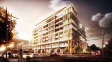 The nine-story development across the street from Sir Winston Churchill Park will consist of 108 condo suites and 10 townhouses.