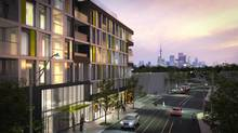 Beach Hill Residences, by Carlyle Communities, will be one of only a few mid-rise buildings in the Woodbine Avenue corridor.