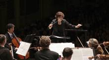 Maestra Tania Miller is finishing up her 13th year as music director of the Victoria Symphony, which is currently touring to celebrate its 75th anniversary.