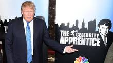 Donald Trump attends a Celebrity Apprentice red-carpet event at the Trump Tower in New York in February, 2015. Much of Trump's iconic, brash method can be accredited to his roots in reality TV. (Andrew H. Walker/Getty Images)