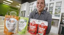 Manitoba Harvest Hemp Foods co-founder Mike Fata has worked around perceptions of hemp by pitching a simple message: 'Our products taste good, are easy to use and are good for you.' (JOHN WOODS For the GLOBE AND MAIL)