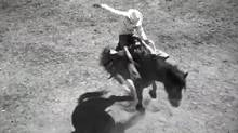 """A still from the Calgary Stampede's """"Ride"""" ad."""