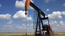 An EnCana pumpjack near Weyburn, Sask. (Brian Harder/EnCana Corporation)