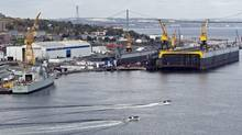 Halifax's shipyard: What if we discover down the road that the process or the decision was flawed? (Andrew Vaughan/THE CANADIAN PRESS)