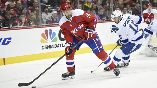 After Rough Start, Persistence Of Washington Capitals' Williams Paying Off