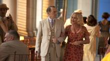 BOARDWALK EMPIRE episode 49 (season 5, episode 1): Steve Buscemi, Patricia Arquette. photo: Macall B. Polay (HBO/Macall B. Polay)
