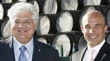 RIM co-CEOs Mike Lazaridis, left, and Jim Balsillie (DAVE CHIDLEY)