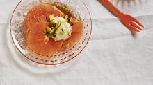 Honeyed orange salad with yogurt and pistachios (Donna Griffith for The Globe and Mail/Donna Griffith for The Globe and Mail)