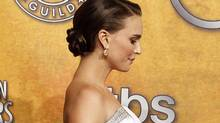 Natalie Portman at the Screen Actors Guild Awards in Los Angeles last month. (Reuters)