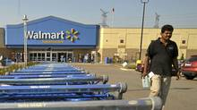 The Wal-Mart Canada Meadowvale store in Mississauga store, Sept. 12, 2011. (J.P. MOCZULSKI/For The Globe and Mail/J.P. MOCZULSKI/For The Globe and Mail)
