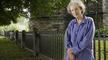 Author Margaret Atwood in shown in Toronto's Annex neighbourhood on Aug. 18, 2009. (JENNIFER ROBERTS/Jennifer Roberts for The Globe and Mail)