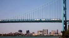 The proposed border-adjustment tax, which would stick a levy to many goods imported into the United States from Canada at crossings such as the Ambassador Bridge into Detroit, would make Canadian products less appealing to the world's largest market. (Mark Spowart/THE CANADIAN PRESS)