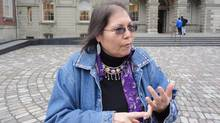 Lead plaintiff, Marcia Brown Martel, a member of the Temagami First Nation near Kirkland Lake, Ont., was taken by child welfare officials and adopted by a non-native family as a child. (DIANA MEHTA/THE CANADIAN PRESS)