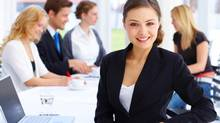 If young workers want to be leaders, they need to stick with an employer and show that they can move up from within. (Jacob Wackerhausen/Thinkstock)