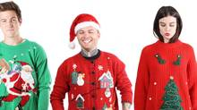 A few years ago, it looked like the ugly Christmas sweater might just be a passing fad. But now, with the sweaters showing up everywhere from office parties to family gatherings, that trend is starting to look a lot more like a tradition. This year, ugly Christmas have become more commercial than ever, with big retailers and even professional sports teams getting in on the action. It's not just the big guys, though, some small Canadian businesses are also seeing big sales from ugly sweaters. (Aiseirigh Vintage and EmmettBrown)