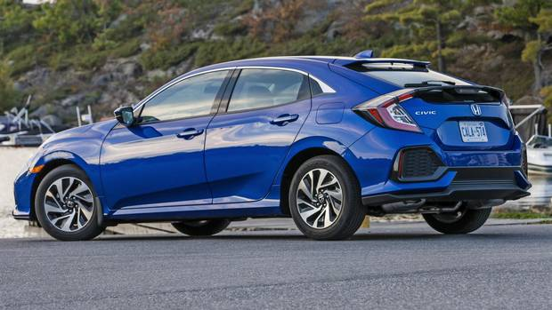 Review: 2017 Honda Civic hatchback is the most useful Civic yet, but ...