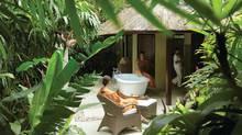Unwind at the Four Seasons Resort Sayan in Bali.