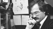 Toronto alderman Jack Layton, 1983 (Dennis Robinson/Dennis Robinson/The Globe and Mail)