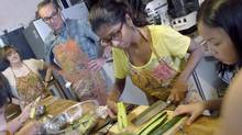 In Singapore, try making local favourites such as chicken rice in classes run by Cookery Magic.