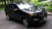 2013 Kia Sorento (Bob English for The Globe and Mail)