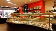 Eric Kayser pastry shop in Saint-Germain-en-Laye. (David Grimbert)