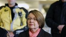 Justice Minister Shirley Bond says security holes in a public crime database have begun to be addressed. (Chad Hipolito for The Globe and Mail)