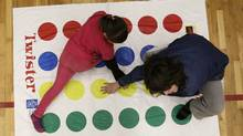 Twister game (Lyle Stafford For The Globe and Mail)