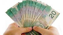 The Canadian dollar remained near parity on Thursday. (Paul-André Belle-Isle/Getty Images/iStockphoto)