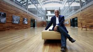 Aldo Bensadoun, founder and CEO of Aldo Group Inc., at the company's head office in Montreal.