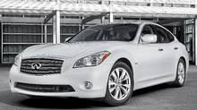 2012 Infiniti M Hybrid (Nissan)