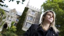 """Atara Messinger, 21, is in her final undergraduate year at McMaster University, and feels core-curriculum programs like hers are """"guiding you to where the world is going,"""" and yet are 'so, so hard to get these days.' (Peter Power/The Globe and Mail)"""