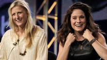 Mamie Gummer (left) and Canada?s Caroline Dhavernas are in Off The Map, an ABC show debuting Wednesday. (Chris Pizzello/AP)