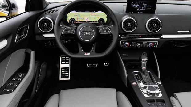 review 2017 audi a3 gets a facelift but biggest changes are on the inside the globe and mail. Black Bedroom Furniture Sets. Home Design Ideas
