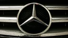 Mercdes Benz's well-known logo is recognizable around the world. (Laura Leyshon/For The Globe and Mail/Laura Leyshon/For The Globe and Mail)