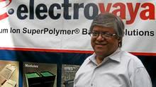 Sankar DasGupta, Electrovaya CEO. (Michael Vaughan for The Globe and Mail)