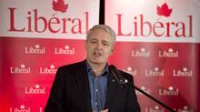 Liberal MP Marc Garneau announces his candidacy for the Liberal party leadership Nov. 28, 2012 in Montreal. (Paul Chiasson/THE CANADIAN PRESS)