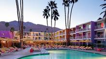 The Saguaro Palm Springs hotel in Palm Springs, Calif.