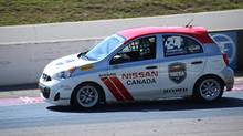 Preet Banerjee races at the Canadian Tire Motorsport Park in Bowmanville, Ontario, on Labour Day weekend, 2016. (Unsolicited/Derek Goodwin)