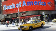 A Bank of America branch in New York (EMMANUEL DUNAND/AFP/Getty Images)